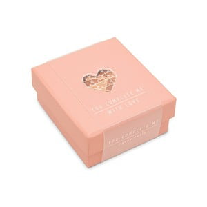 Puzzle cu mesaj Luckies of London Romantic Pink