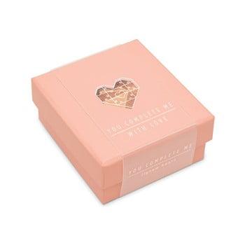 Puzzle cu mesaj Luckies of London Romantic Pink de la Luckies of London