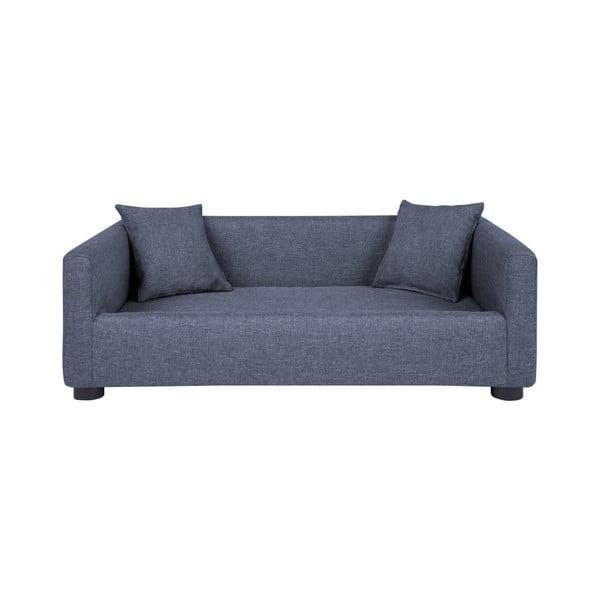 Canapea cu 2 perne decorative pentru câini Marendog Princess, albastru deschis