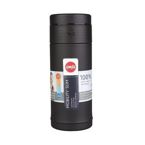 Termolahev Mobilitiy Slim Black, 420 ml
