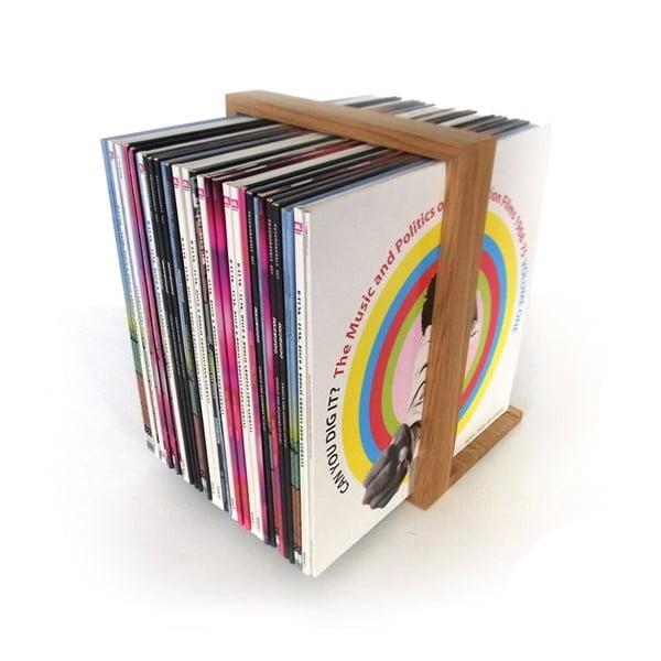Stojan na vinylové desky, 52x35 cm
