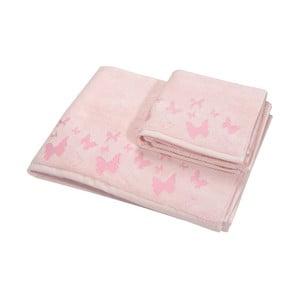 Sada 2ks ručníků Papilon Rase