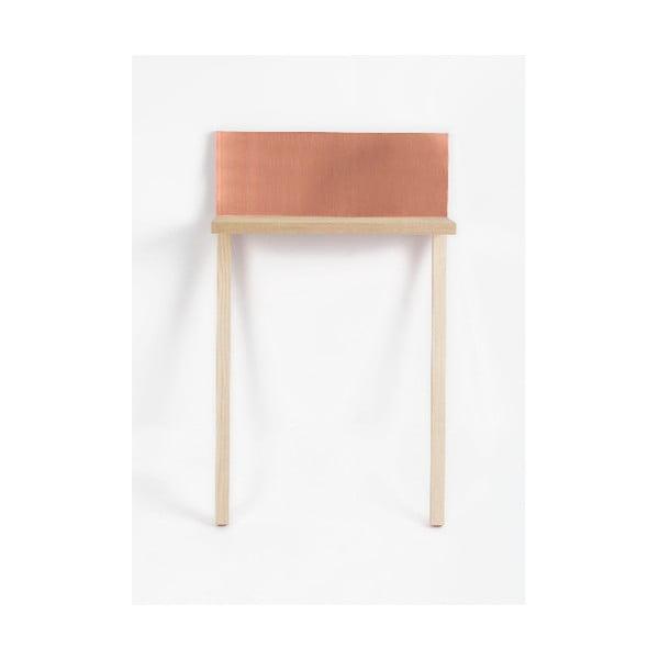 Mesita Copper rézszínű tárolóasztal - Surdic