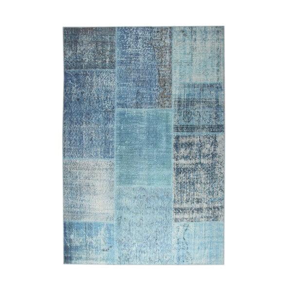 Eko Rugs Esinam kék szőnyeg, 75 x 150 cm