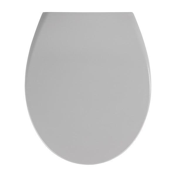 Samos szürke WC-ülőke, 44,5 x 37,5 cm - Wenko