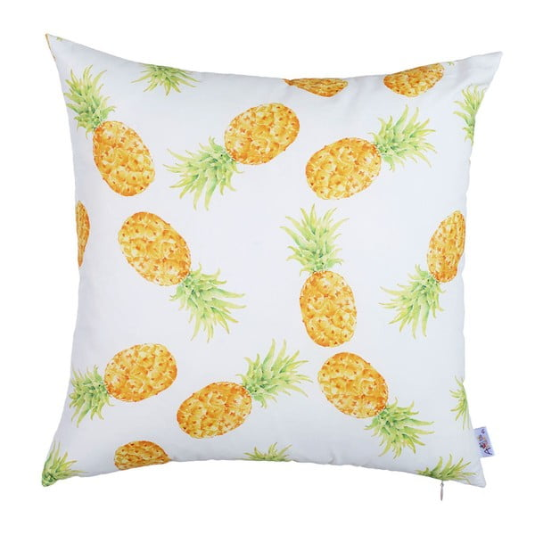 Juicy Ananas párnahuzat, 43 x 43 cm - Apolena