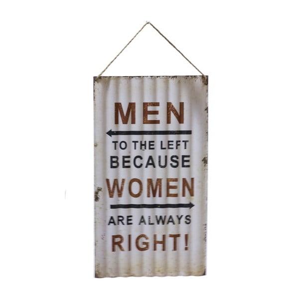 Cedule na stěnu Novita Wavy Men