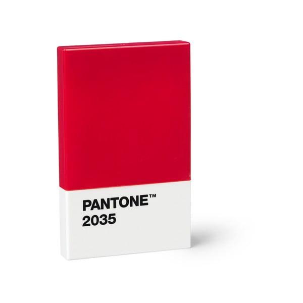 Suport cărți de vizită Pantone, roșu