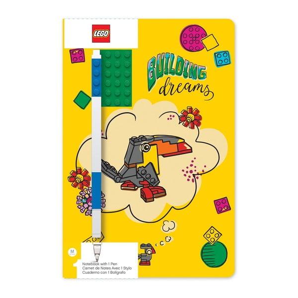Building Dreams jegyzetfüzet és toll - LEGO®