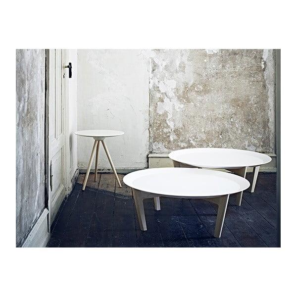 Bílý stolek Softline Circo