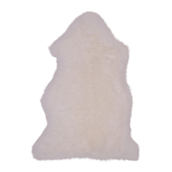Bílá ovčí kožešina House Nordic, 50 x 85 cm