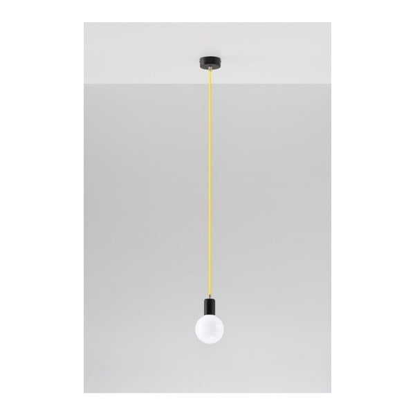 Lustră Nice Lamps Bombilla Yellow