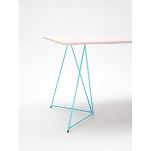 Podnož ke stolu Diamond Green, 70x55 cm