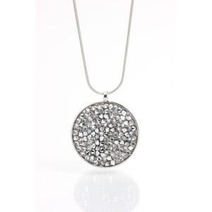 Náhrdelník se Swarovski krystaly Laura Bruni Circle Crystal