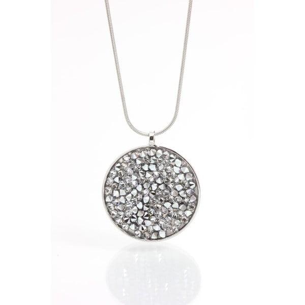 Náhrdelník se Swarovski krystaly Yasmine Circle Crystal