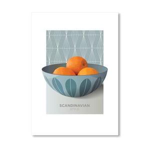 Autorský plakát Cathrineholm oranges