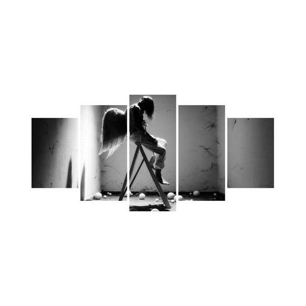 Vícedílný obraz Black&White no. 44, 100x50 cm