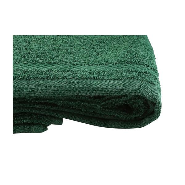 Vánoční sada zeleného ručníku a osušky Ho ho