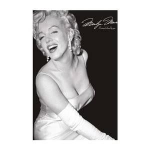 Fotoobraz Marylin Smiling, 81x51 cm