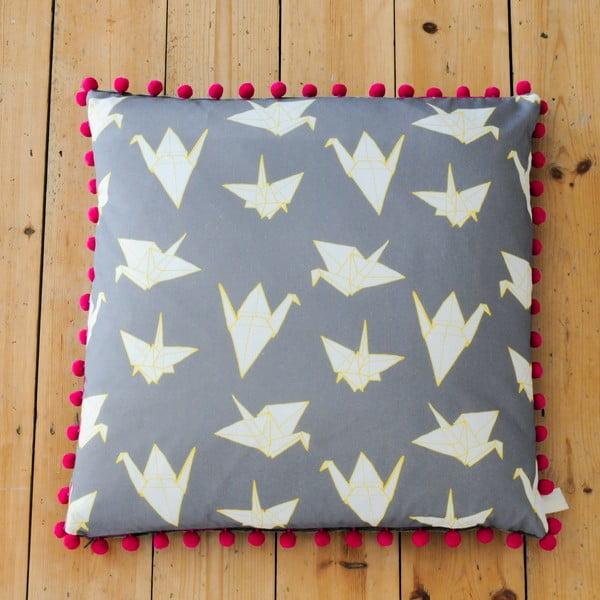 Polštář Cranes, 61x61 cm