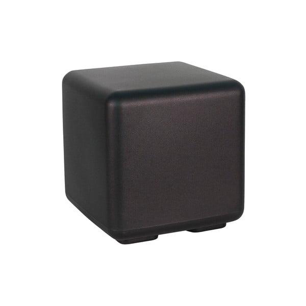Venkovní stolek Cubo, černý