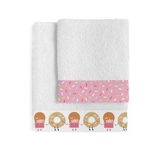 Set osušky a ručníku Happynois Candies