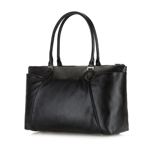Kožená kabelka Comfort Long Black