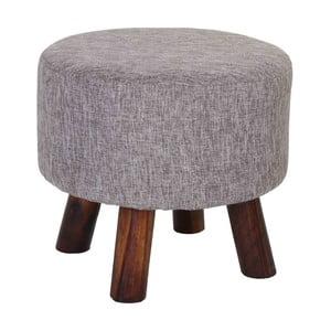Šedá stolička Mendler Vichy
