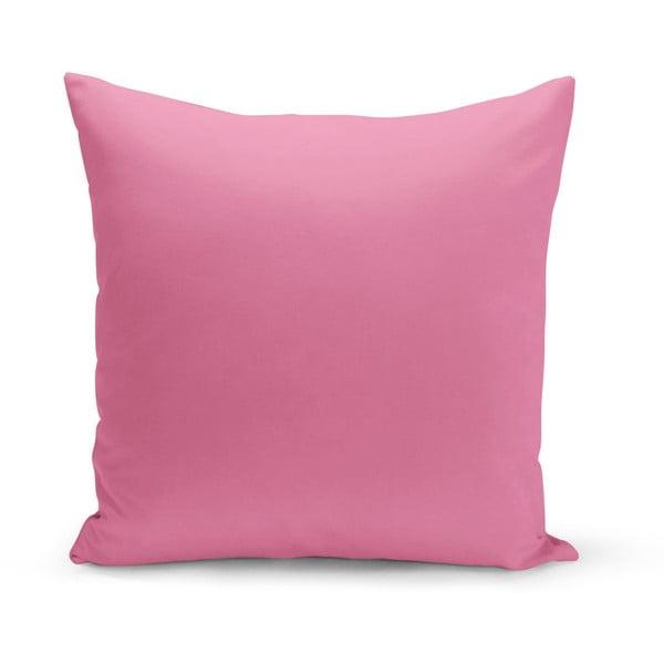 Růžový polštář Kate Louise Parado, 43 x 43 cm