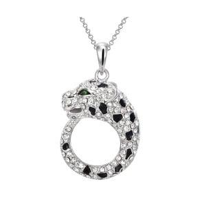 Náhrdelník s krystaly Swarovski Elements Crystals Leopard
