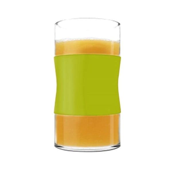 Sklenice z borosilikátového skla, limetkové, 240 ml, 2 ks