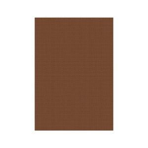 Koberec hnědý 140x200 cm