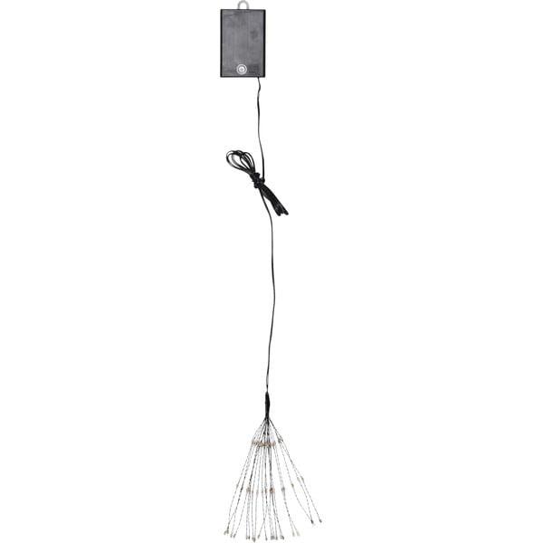 Hanging Firework Dark Rainbow függő, világító LED dekoráció, 60 izzó - Best Season