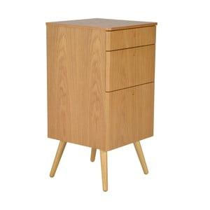 Kancelářské zásuvky Niles, 59x40 cm, dub