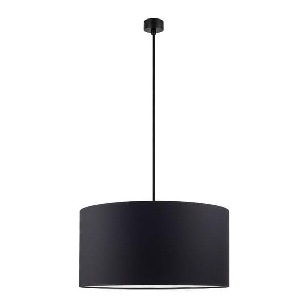 Černé stropní svítidlo Sotto Luce Mika, ∅50cm