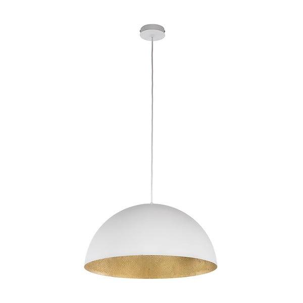 Bílé závěsné světlo BRITOP Lighting Tuba S