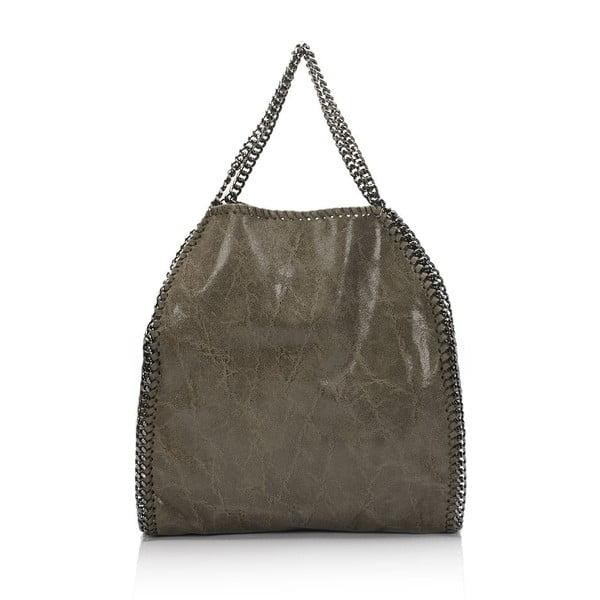 Kožená kabelka Markese 126 Fango