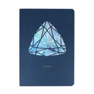 Jurnal A6 Portico Designs Topaz Birthstone, 124 file