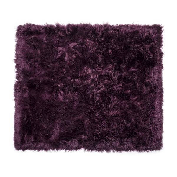 Zealand Sheep lila bárányszőrme szőnyeg, 130 x 150 cm - Royal Dream