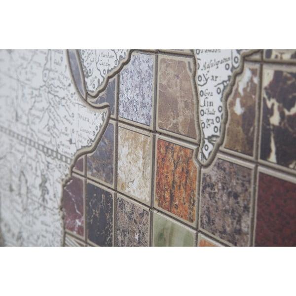 Nástěnná dekorace Mauro Ferretti Byzantine Map,∅ 125cm