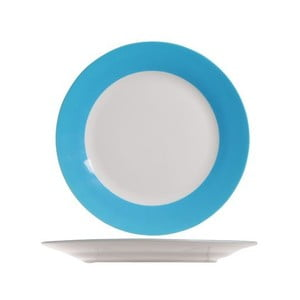 Set čtyř talířů, 27 cm, modrý