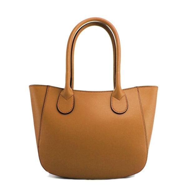 Kožená kabelka Filena Taupe