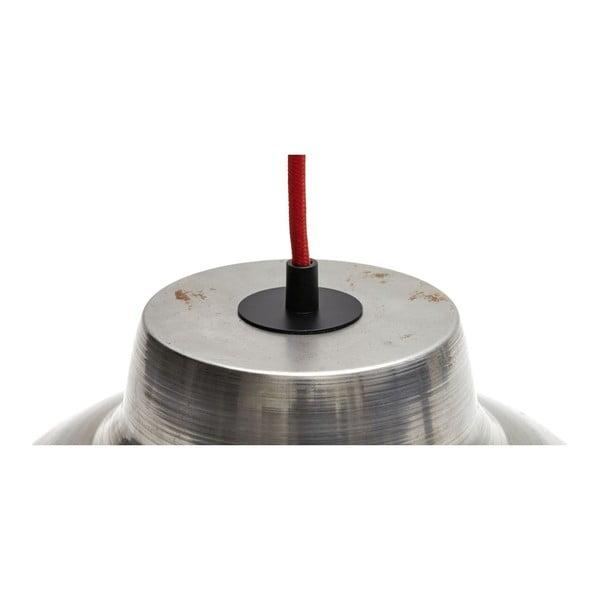Stropní svítidlo Basic Stahl/Red
