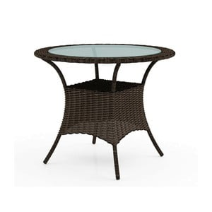 Hnědý zahradní stůl Oltre Filip