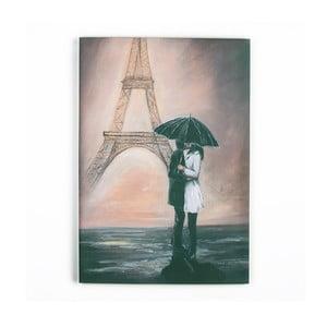 Tablou Graham & Brown Kissing In Paris, 70 x 100 cm
