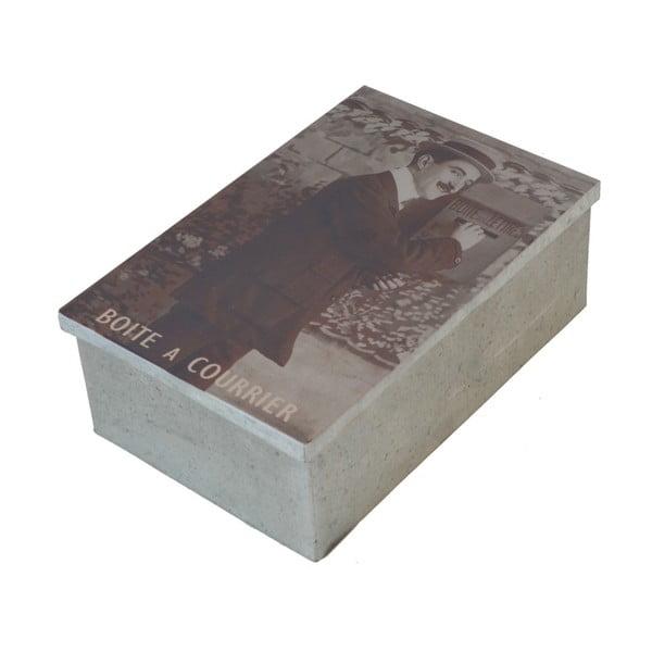 Kovový box na dopisy Antic Line