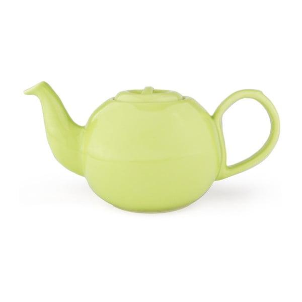 Světle zelená konvice se sítkem na sypaný čaj Bredemeijer Cosette, 1,3 l
