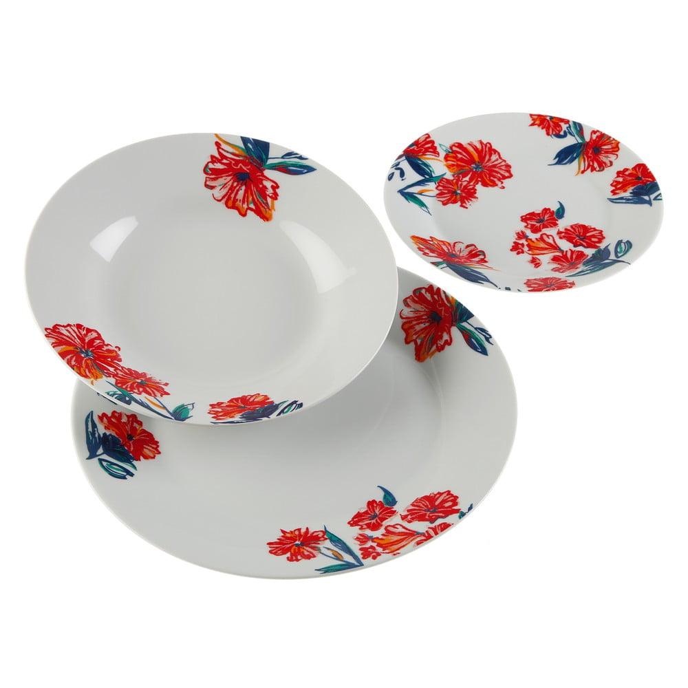18dílná sada porcelánových talířů Versa Paradis VERSA