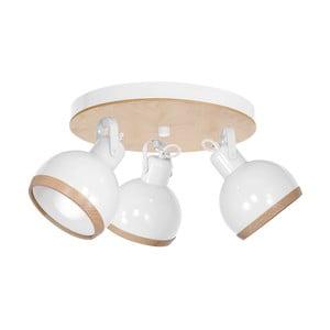 Bílé stropní svítidlo Oval Trio