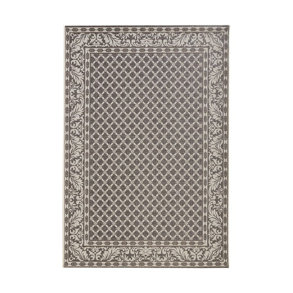 Šedý koberec vhodný i na ven Bougari Royal, 115x165cm